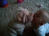 Hele dej mi pusu,a velkou!